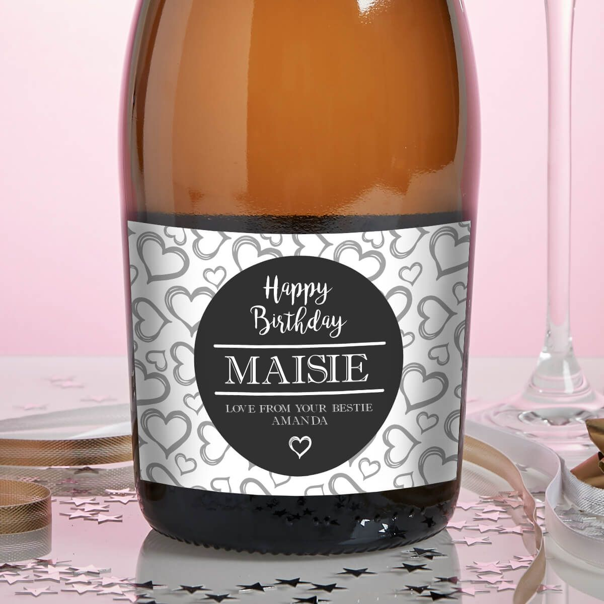 Circle Hearts Prosecco