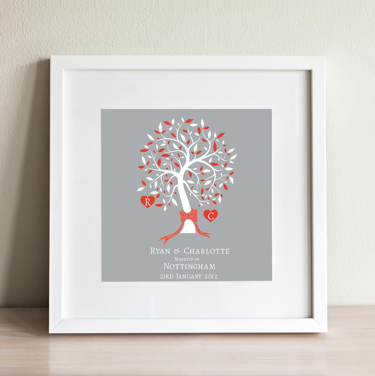 Personalised Anniversary Gifts Special Anniversary Present
